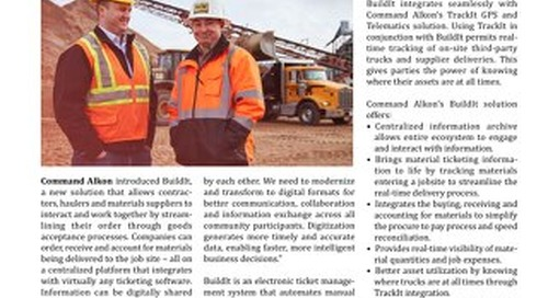 Rock Products Magazine Features Command Alkon's BuildIt Solution