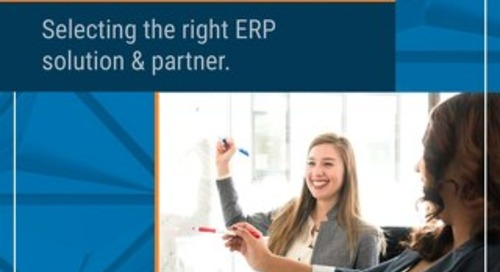 How to Select the Right Solution and Partner