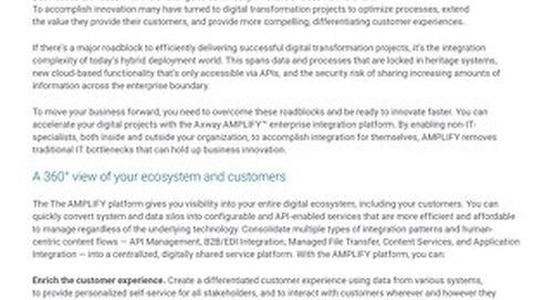 AMPLIFY™ Platform