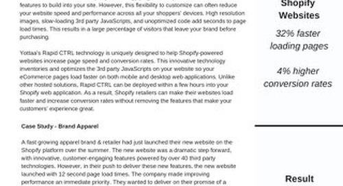 Case Study: Shopify