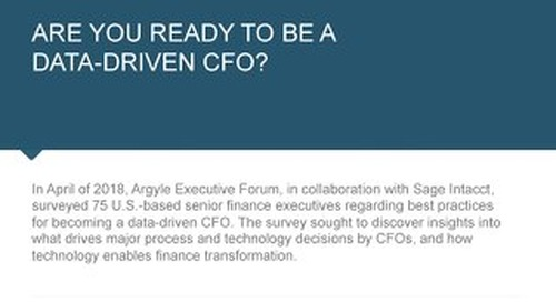 Argyle Survey of Data-Driven Finance eBook