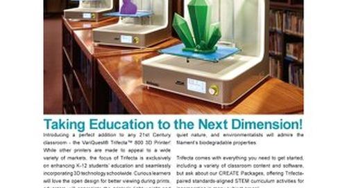 VariQuest Trifecta 3D Printer Flyer