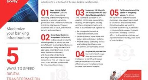 5 Ways to Speed Digital Transformation