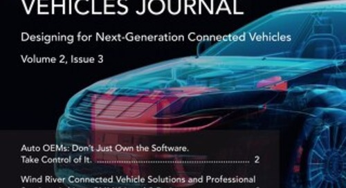 Connected Vehicles Journal - Volume 2, Issue 3