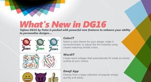 DG16 - What's New?