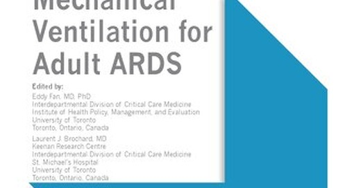ATS/SCCM - Mechanical Ventilation in ARDS