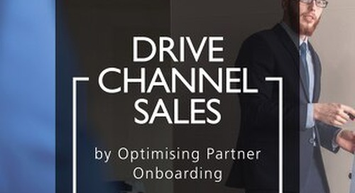 Drive channel sales by optimising partner onboarding