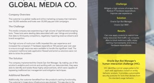 Case Study: Global Media Company