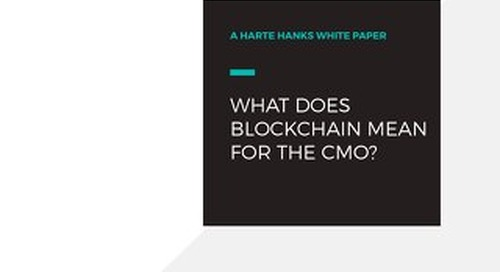 What Does Blockchain Mean for the CMO?