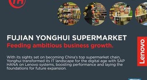 Case Study Fujian Yonghui Supermarket
