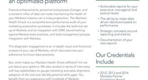 Marketo Health Check