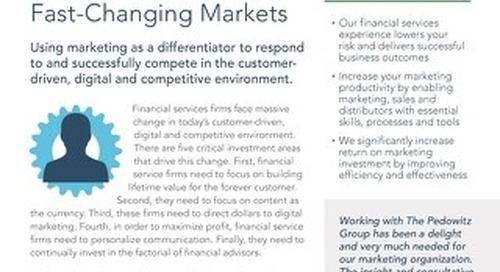 Financial Services Data Sheet