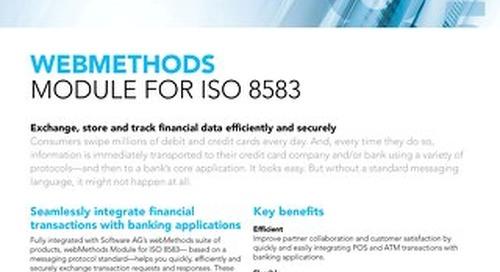 webMethods Module for ISO 8583