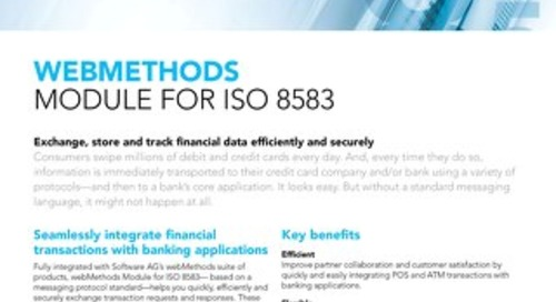 webMethods Module for ISO 8583