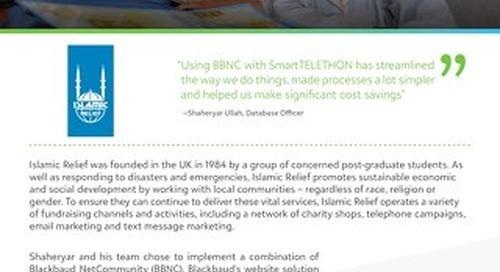 Islamic Relief | Customer Spotlight