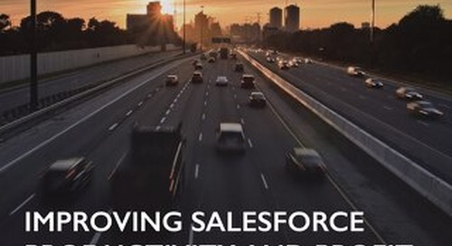 Key Energy Improving Salesforce Productivity and Profit