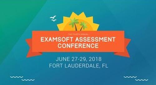 Blueprinting Assessment - Carmel Tepper - EAC 2018
