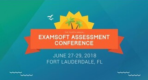 ExamSoft Training: Blueprinting: Taking Your Exams  to the Next Level! - Chrissy Hansen - EAC 2018