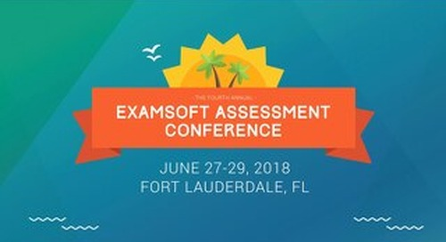 ExamSoft Training: Psychometrics 101: Know What Your Assessment Data is Telling You - Ashley Castleberry - EAC 2018