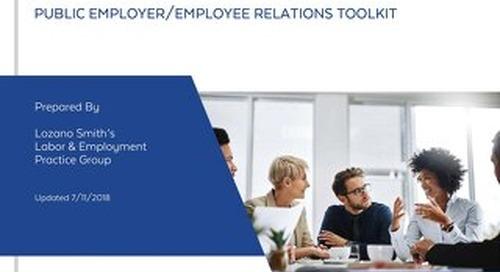 Janus vs. AFSCME: Public Employer/Employee Relations Toolkit