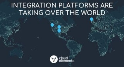 Integration Platforms Are Taking Over The World | Webinar Slides