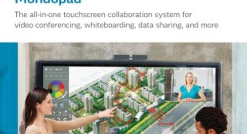 InFocus - Mondopad: The All-in-One Touchscreen Collaboration System
