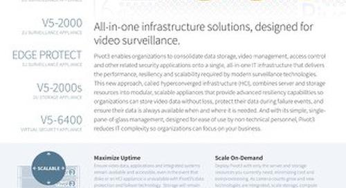 [Data Sheet] Pivot3 Surveillance Series (Skylake)
