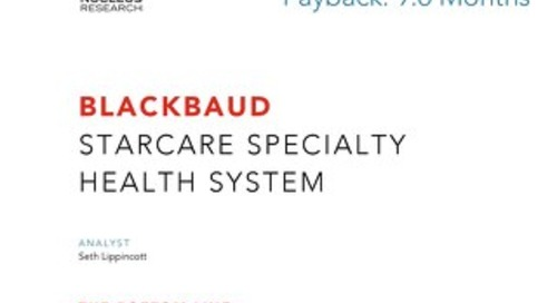 ROI Case Study: StarCare Specialty Health System