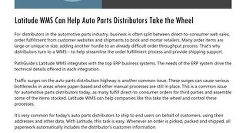 Automotive Parts Distribution