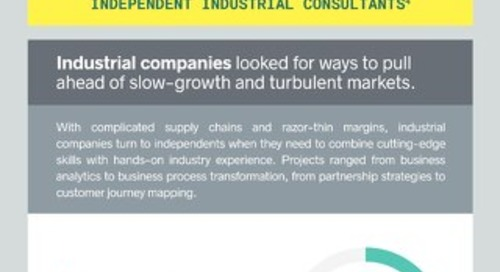 The Independent Consulting Economy 2017 - Spotlight on Industrial