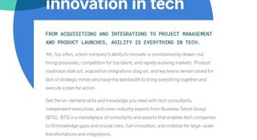 Business Talent Group Key Strengths: Tech