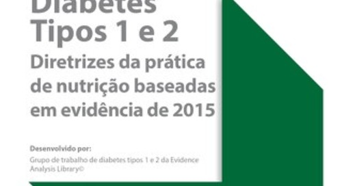 Diabetes Nutrition - Portuguese