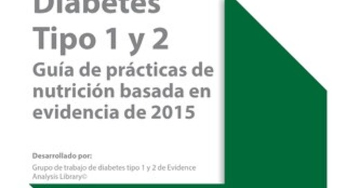 Diabetes Nutrition - Spanish