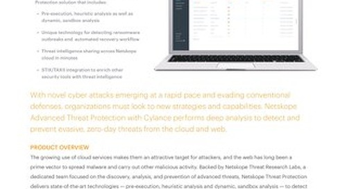 Netskope Threat Protection with Cylance