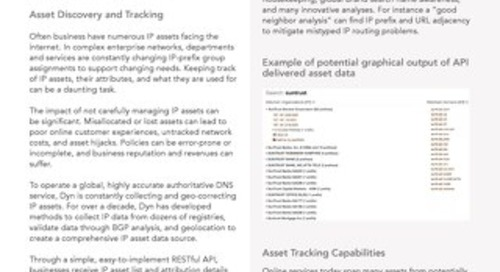 Attribution API Data Sheet