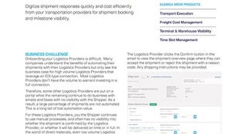 Elemica Move:  QuickLink Email Logistics