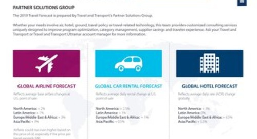 2019 Global Business Travel Forecast