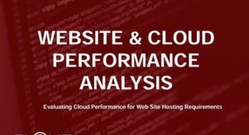 2018 Cloud Spectator Performance Report