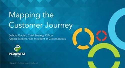 Webinar Slides: Mapping the Customer Journey