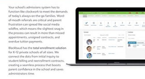 The Connected Student Enrollment Experience