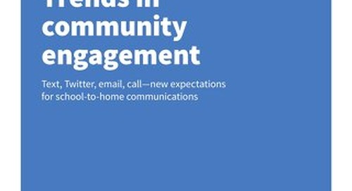 Trends in Community Engagement