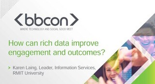 How Can Rich Data Improve Engagement and Outcomes? - Karen Laing