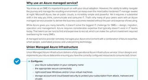 Claranet | Managed Azure Infrastructure