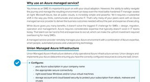 Claranet | Managed Azure Infrastructure