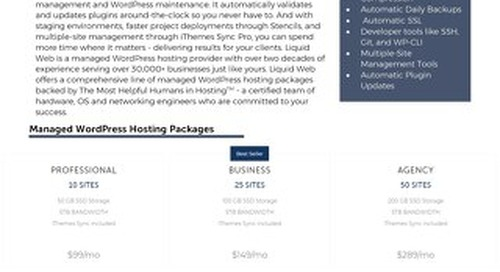 Managed WordPress is the Perfect Choice for Growing Digital Agencies, Developers, and Freelancers