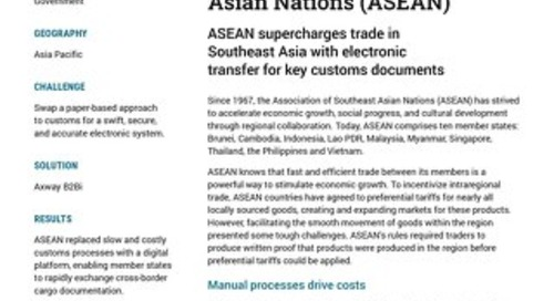The Association of Southeast Asian Nations (ASEAN)