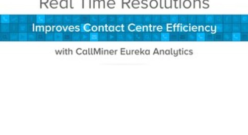 Real Time Resolutions Case Study (UK)