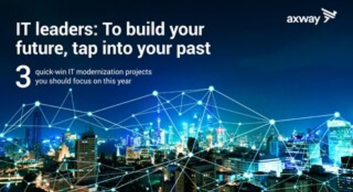 IT Leaders: To Build Your Future, Tap Into Your Past