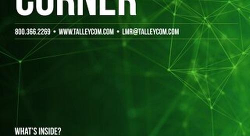 August 2018 Talley LMR Corner