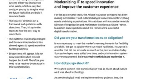 Customer Q & A: Allianz